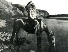 American Indians of the 1700's. At one time they roamed free, watered their animals at any river, hunted and lived peacefully, for the most part.