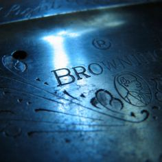 """Browning Shotgun-  """"Round here we clean the ditches with antique cannons"""" - JR Deverger"""