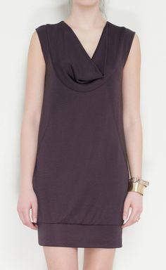 Laila Azhar Dark Brown Dress