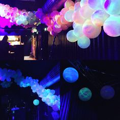 Blacklight ballons. Radar, Godsbanen.