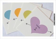 #free printables, ,  Custom Wedding Signs, Signs, , Table Numbers, Heart and Arrow, Heart, Arrow, Table, $0 | CHECK OUT MORE IDEAS AT WEDDINGPINS.NET | #printableweddingtemplates