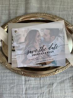 Save the Date Vellum Layered Invites Clear Invitations Wedding Invitations With Pictures, Save The Date Invitations, Wedding Invitation Cards, Wedding Stationery, Wedding Cards, Engagement Party Invitations, Save The Date Karten, Save The Date Cards, Save The Date Ideas