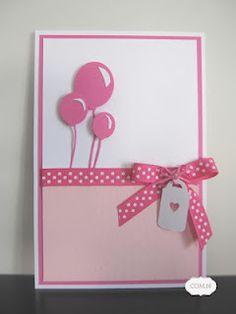 DIY Card in pINk or BLuE!!!