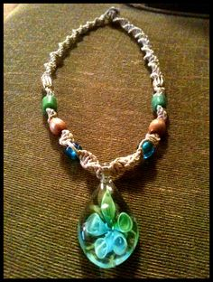 Hemp Necklace made for Carmen~Made by Patricia Enfield-Patrick