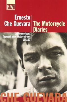 "The Motorcycle Diaries by Che Guevara | 16 Little Books To Read On Long Journeys | In his memoir, Argentine revolutionary Ernesto ""Che"" Guevara recounts his nine-month journey across South America, where he witnessed the social injustices — the oppression of communists, the exploitation of mine workers — that transformed him into the political icon we now know."