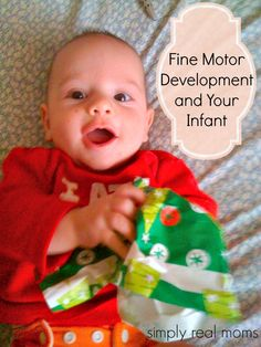 Fine Motor Development and Your Infant