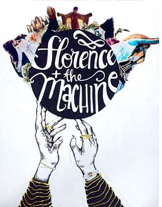"""craftpvnk: """"✿ My newest FATM creation ✿ """" Florence Art, Florence Welch, Florence The Machines, Alice In Chains, Live Rock, Daft Punk, Beautiful Voice, Arctic Monkeys, All You Need Is Love"""