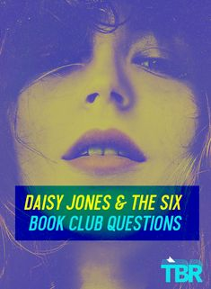 If your club has decided to read it, we have 15 book club ideas that address Daisy Jones & The Six book club questions, themes, characters, and more, plus a few book club activity ideas! #daisyjones #bookclub #bookclubs #books #reading #historicalfiction