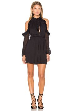 Free People You and I Mini Dress in Black | REVOLVE