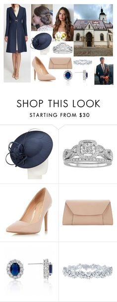 """Attending Statehood Day Mass at St. Mark's Church in Zagreb"" by hrh-amelia-of-croatia ❤ liked on Polyvore featuring John Lewis, Modern Bride, Dorothy Perkins, Valextra, Fantasy Jewelry Box and Harry Winston"