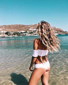 Mykonos♡ Greece is almost as beautiful as the Hawaiian islands♡