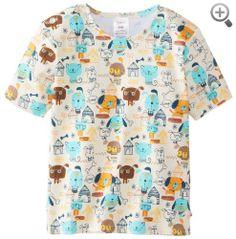 Zutano Baby-Boys Infant Woof Club Short Sleeve Tshirt