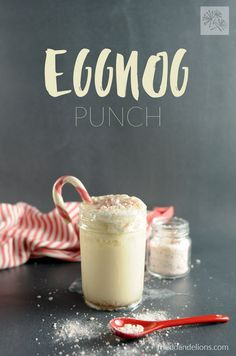 This Vegan Eggnog Pu