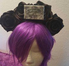 Ouija Ouija headband Ouija flower crown Horror by msformaldehyde