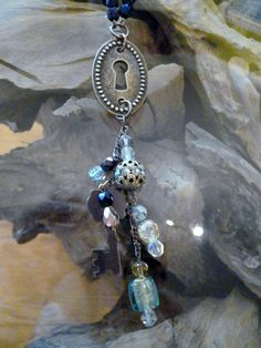 Mystery Keyhole Necklace by VintageMirageJewelry on Etsy