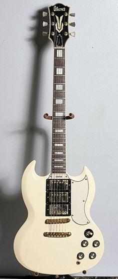 "Mid-'70s Ibanez Model 2345 - Another of Paul Gilbert's ""Lawsuit era"" Guitars"