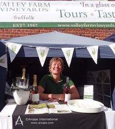 We discovered the taste Suffolk wine with Valley Farm Vineyards.