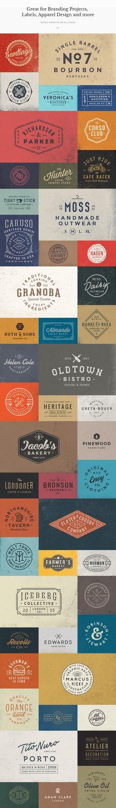50 Logo Templates Bundle - Logos - 3