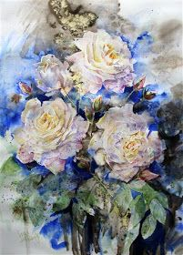 Another in the series of roses for the Lindfield Festival next month, which is well wortha visit. I will be exhibiting there from 11th -...