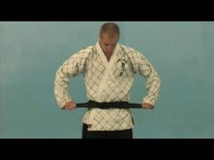 How to Tie a Hapkido Belt