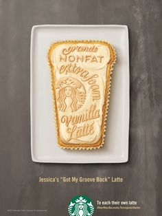 Los deliciosos anuncios tipográficos de Starbucks