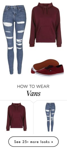 """Untitled #231"" by mojo-malik on Polyvore featuring Topshop and Vans"