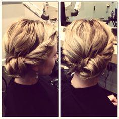 Wedding hair by Jaimie VanPernis, Ecru Salon, San Francisco