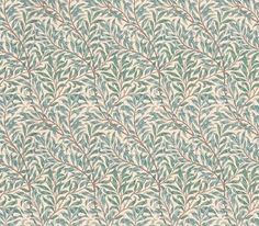 Willow Bough Minor (WR7676/1) - Morris Wallpapers - A flat wallpaper that is suitable for most rooms except kitchens and bathrooms