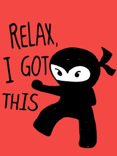 more ninja cuteness from your friends at Loyal Army Clothing.