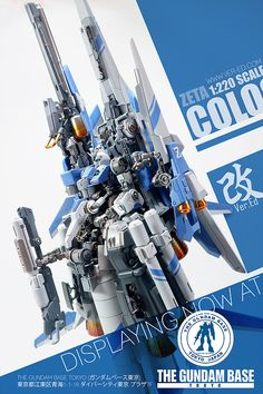 "Full Review: 1/220 ZETA COLOSSUS Ver.Ed ""kai"" http://www.gunjap.net/site/?p=325404"