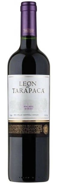 Leon de Tarapaca Malbec Syrah 750 mL Wines, Red Wine, Alcoholic Drinks, Bottle, Glass, Drinkware, Flask, Corning Glass, Liquor Drinks