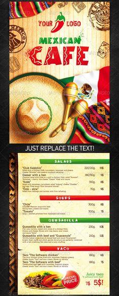 Mexican-Menu