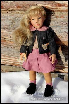 Моя новенькая - Самира GOTZ & STEIFF COLLECTION 2003 год / Куклы Gotz - коллекционные и игровые Готц / Бэйбики. Куклы фото. Одежда для кукол