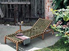 MISTRAL | Garden daybed by RODA | design Rodolfo Dordoni
