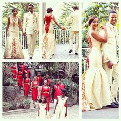 Last one for Melse/melsi Sunday! We are loving this stylish bridal party ❤️❤️ all of the habeshalibs/zurias were designed by the Yohannes Sisters in Addis Ababa #habesha #wedding #melse #melsi #red#gold #cream #ideas #bride #groom #bridesmaids #groomsmen #bridalparty #habeshalibs #habeshakemis #zuria #habeshakidan #portraits #portraits #ideas #habeshabride #habeshabrides @yohannessisters