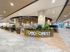 Food Court, Food Design, Restaurant, Interior, Mall, Projects, Plants, Log Projects, Blue Prints