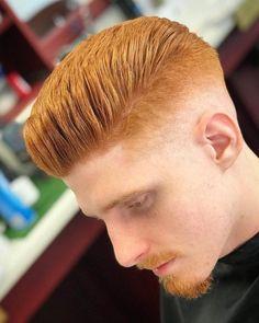 Redhead Haircut