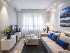 Un #apartamento en tonos neutros