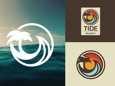 Ocean Surf Logo in Logo