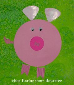 Art For Kids, Crafts For Kids, Art Plastique, Farm Animals, 3 D, Children, Rando, Teacher, Animales