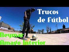 Neymar Amago Interior - Trucos de Fútbol, Engañar al Rival/Futbol Sala &... #Freestyle