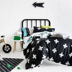 Adairs Kids Dino Rawww Quilt Cover Set, kids quilt covers, kids doona covers