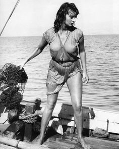 Sophia Loren - Boy on a Dolphin circa 1957 So scandalous this scene was!