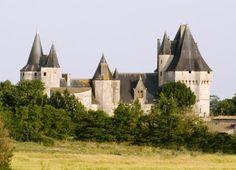 Chateau de Cherveux, France