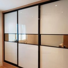 Sliding Wardrobes in London. Built-in made-to-measure mirrored & sliding door wardrobes. Fitted sliding door wardrobes including mirrored doors in London Bedroom Furniture Design, Home Room Design, Bedroom Decor Design, Bedroom Cupboard Designs, Bedroom False Ceiling Design, Bedroom Closet Design, Wardrobe Door Designs, Sliding Door Wardrobe Designs, Ceiling Design Living Room