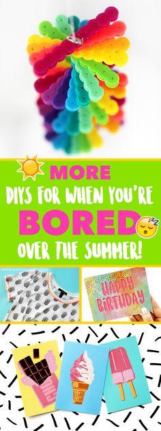 DIYs For When You're Bored Over the Summer! ~@karenkavett
