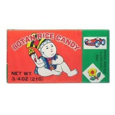 Botan Rice Candy - my mom would buy these in Chinatown for me when I was a kid...they are so yummy