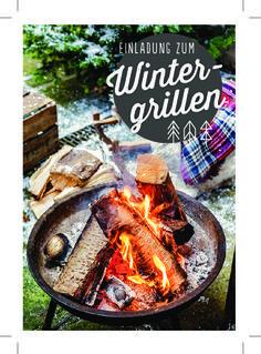 Wintergrillen Grillen im Winter Rezepte Ideen Einladungskarte gratis download