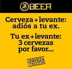 Cerveza, levante y tu Ex