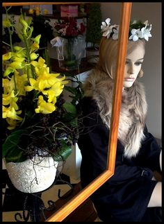 Winter Window -Display by Melton Florist 2012